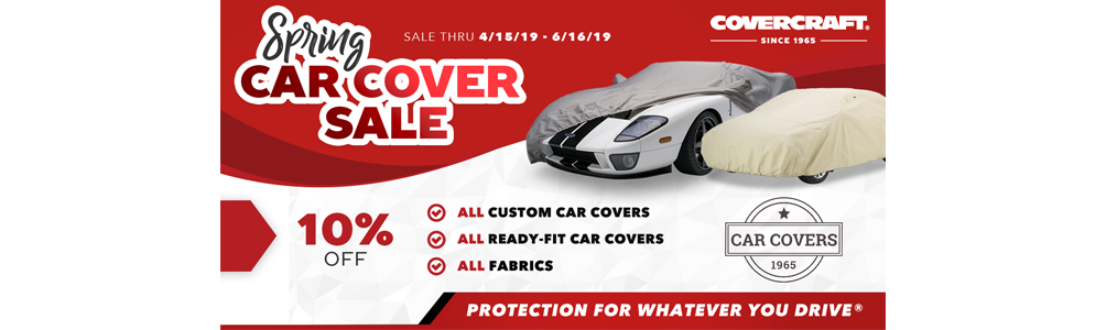 Covercraft Car Cover Sale Banner