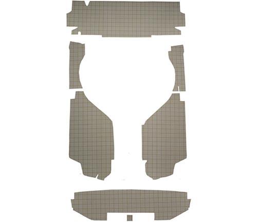 Acc Cardboard Trunk Mat
