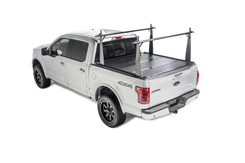 bak bakflip cs-f1 combo tonneau cover / truck bed rack kit