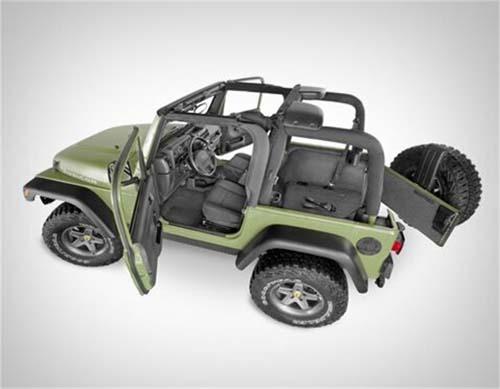 Bedrug BedTred For Jeep Floor Liner