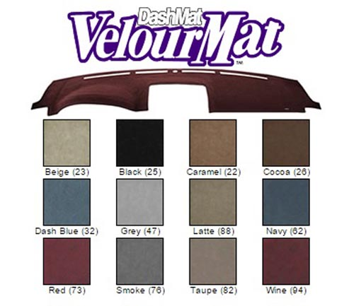 Covercraft Velourmat Dash Covers