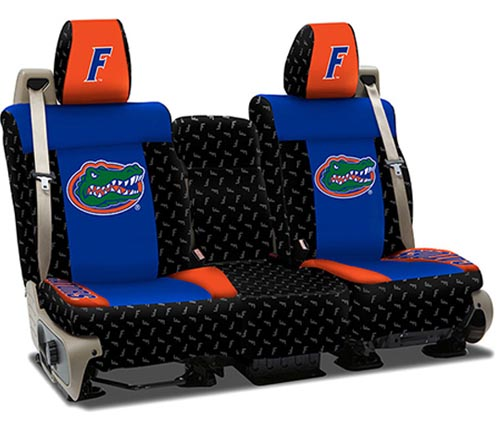 Coverking Collegiate Print Custom Collegiate Seat Covers