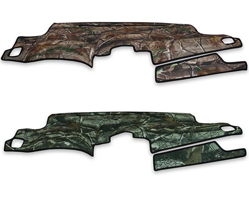coverking velour dash cover realtree colors