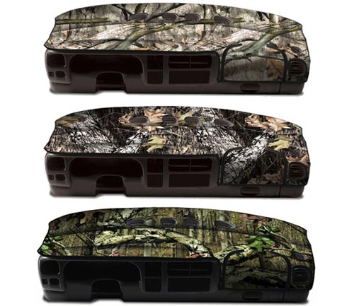 coverking velour rear dash cover mossy oak colors