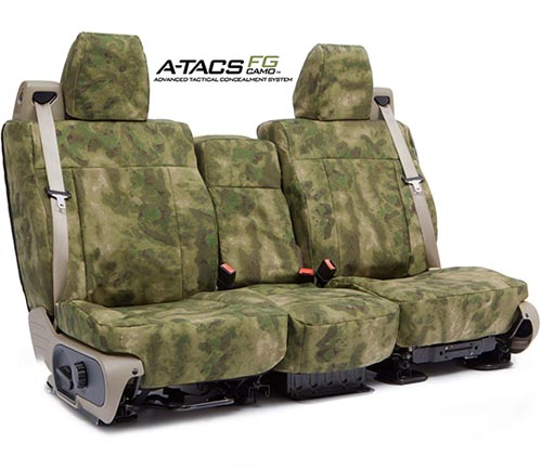 Coverking Ballistic A-tacs Camo Custom Seat Covers