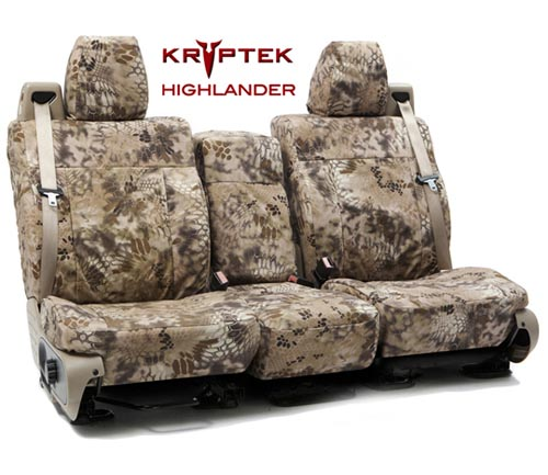 Coverking Ballistic Kryptek Custom Seat Covers