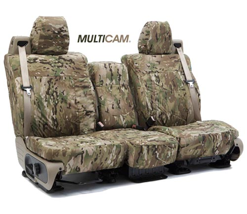 Coverking Ballistic Multi-Cam Custom Seat Covers
