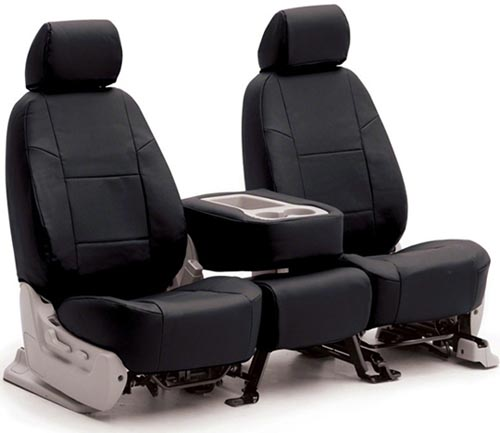 Coverking Genuine Leather Custom Seat Covers