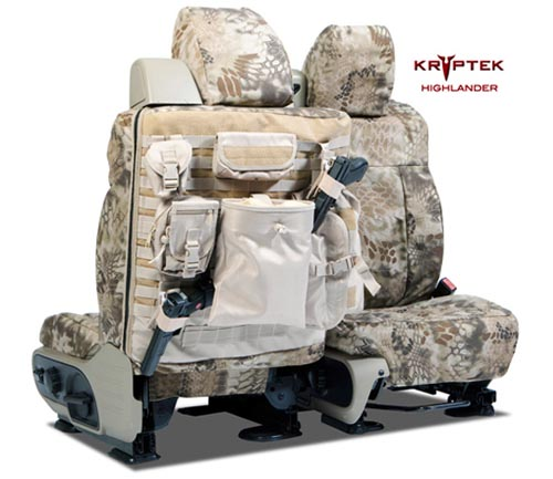 Coverking Ballistic Kryptek Custom Tactical Seat Covers