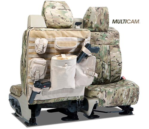 Coverking Cordura/Ballistic Multi-Cam Custom Tactical Seat Covers