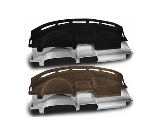 coverking carpet molded dash cover