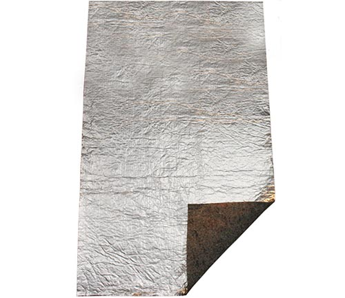 acc foil with pad sound deadener material
