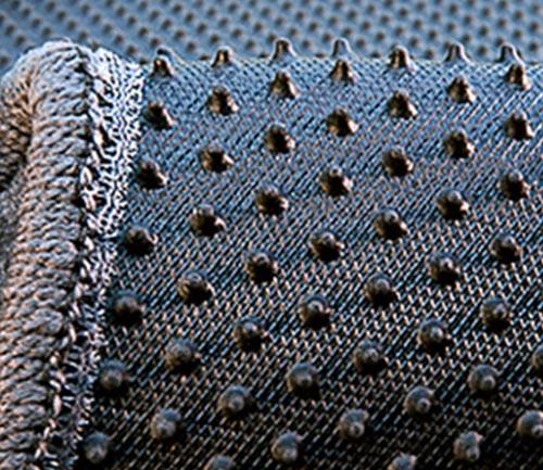 averys luxury touring floor mat backing