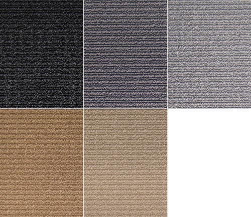 averys luxury touring floor mat colors