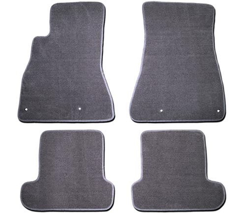 averys touring four piece floor mat