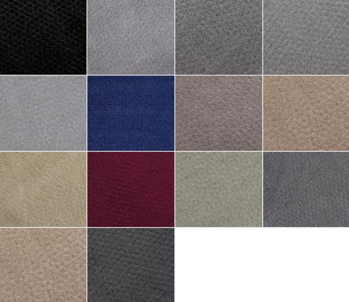 averys touring floor mat colors