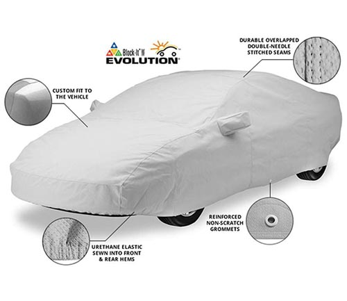 covercraft block-it evolution car cover info