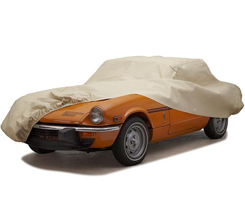 covercraft block-it evolution car cover spitfire uncovered