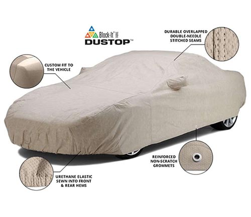 covercraft block-it dustop car cover info