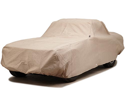 covercraft block-it dustop car cover tr6 covered