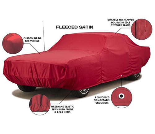 covercraft fleeced satin car cover info