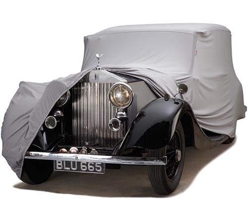 covercraft form-fit car cover rolls-royce uncovered