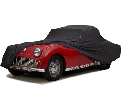 covercraft form-fit car cover tr3a uncovered