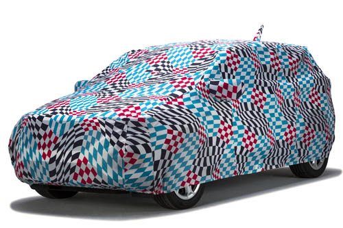 covercraft geometric grafix series car cover