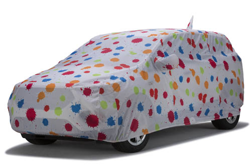 covercraft paint splatter grafix series car cover