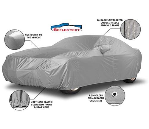 covercraft reflectect car cover info