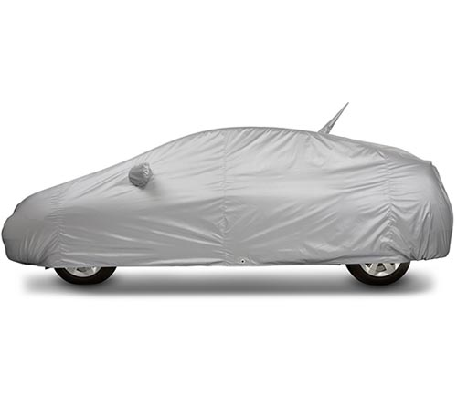 covercraft reflectect car cover prius covered