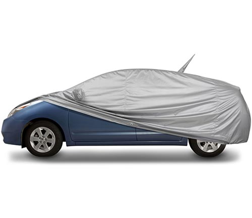covercraft reflectect car cover prius uncovered
