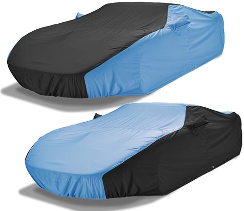 covercraft weathershield hp car cover black and blue