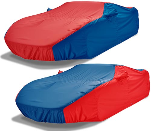 covercraft weathershield hp car cover red and blue