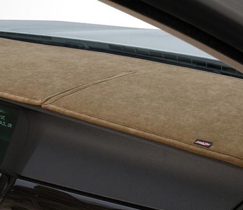 covercraft suedemat dash cover close-up beige