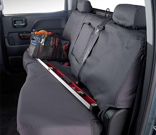 covercraft polycotton seat cover second row