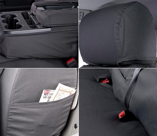 covercraft polycotton seat cover features