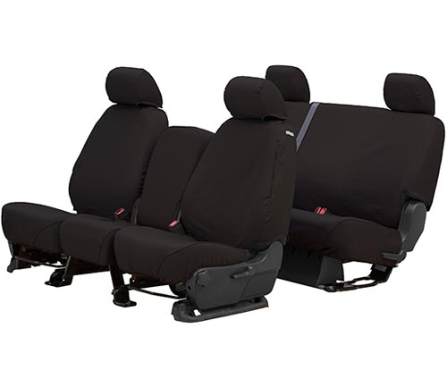 covercraft polycotton seat cover charcoal