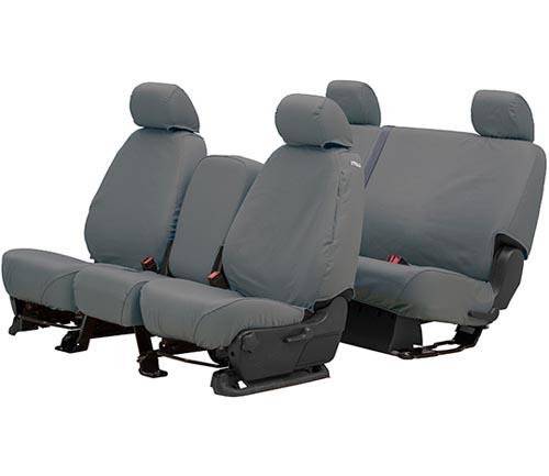 covercraft polycotton seat cover gray