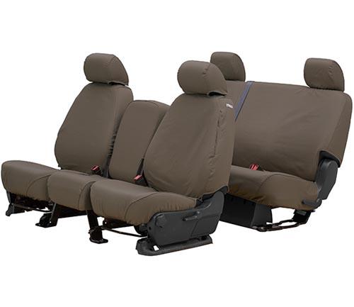 covercraft polycotton seat cover misty gray