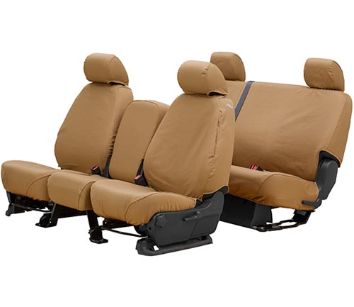 covercraft polycotton seat cover tan