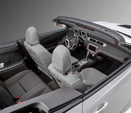 covercraft seatsaver hp seat cover gray