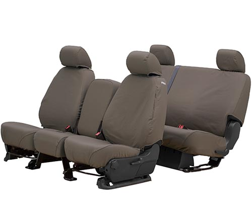 covercraft waterproof seat cover taupe