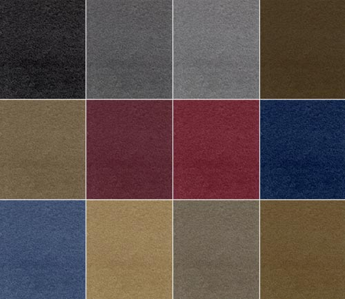 coverking poly carpet rear dash cover colors