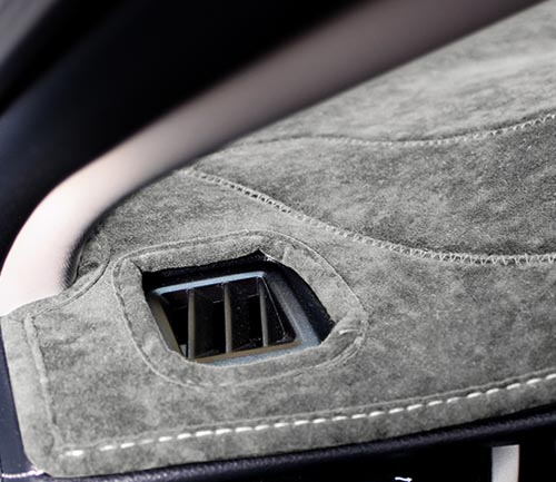 coverking suede dash cover vent