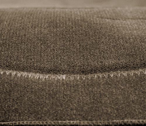 coverking velour dash cover stitching