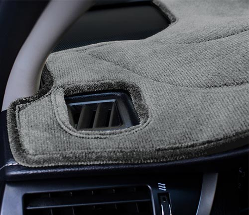 coverking velour dash cover vent