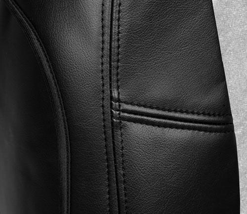coverking alcantara seat cover side airbag
