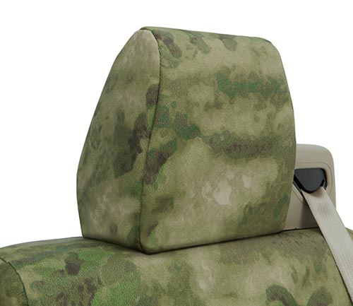 coverking ballistic a-tacs camo seat cover fg