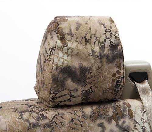 coverking ballistic kryptek seat cover highlander